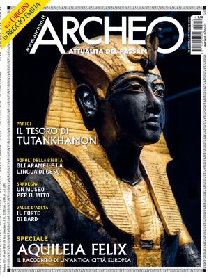 Copertina di Archeo n. 414, Agosto 2019