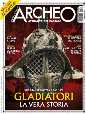 Copertina di Archeo n. 416, Ottobre 2019