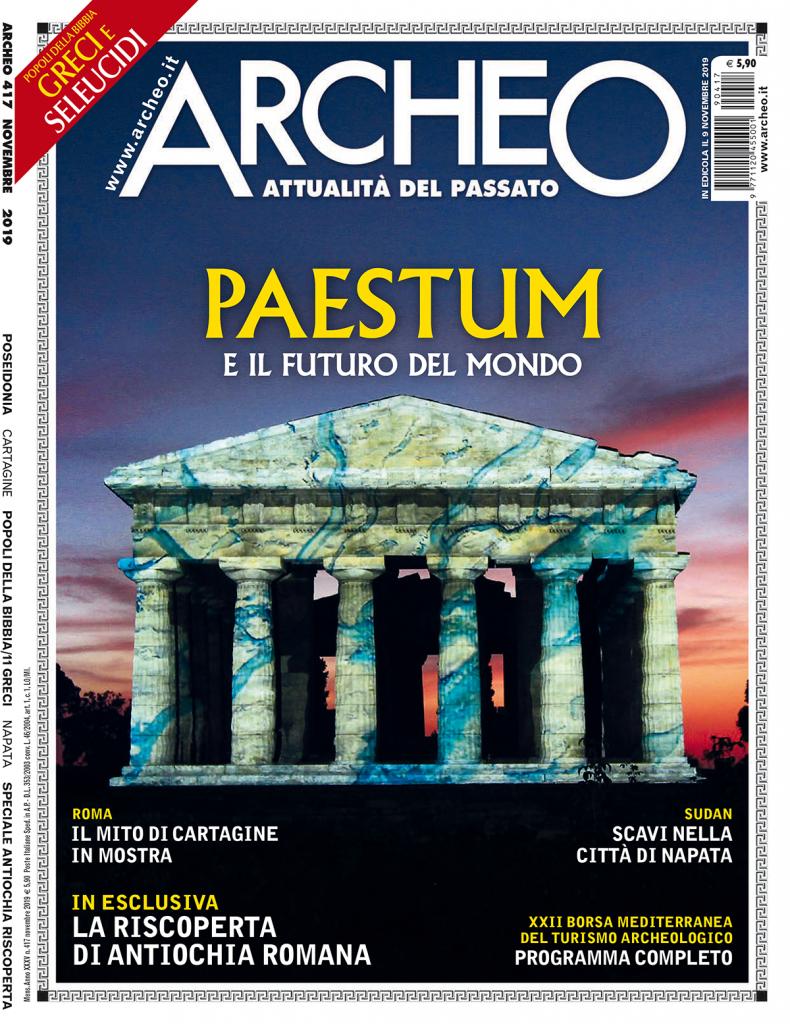Copertina di Archeo n. 417, Novembre 2019
