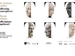Cover mostra marmi Torlonia Musei Capitolini