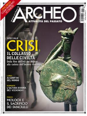 Copertina di Archeo n. 423, Maggio 2020