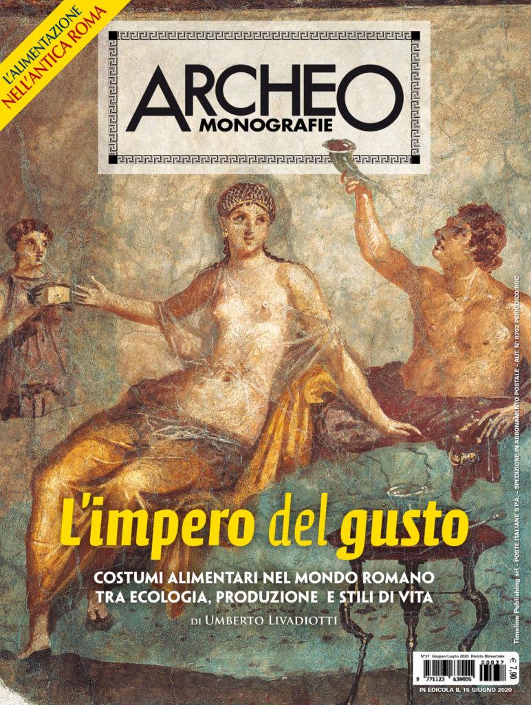 Copertina di Archeo Monografie, n. 37 Giugno/Luglio 2020