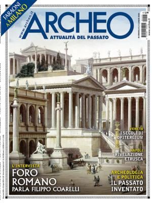 Copertina di Archeo n. 425, Luglio 2020