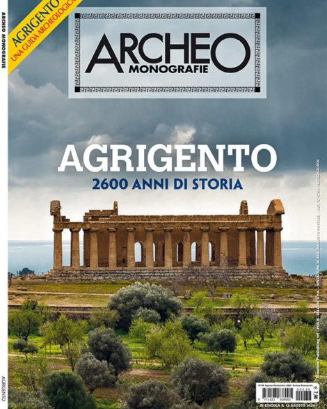Copertina di Archeo Monografie, n. 38 Agosto/Settembre 2020