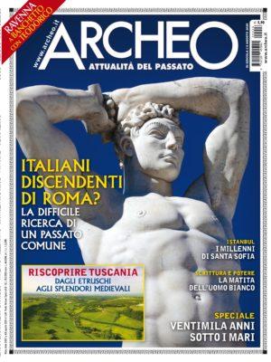 Copertina di Archeo n. 426, Agosto 2020
