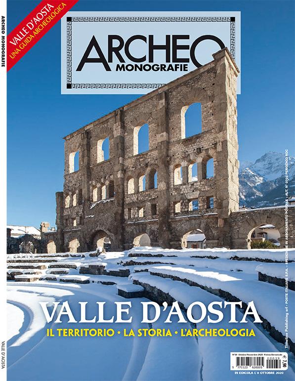 Copertina di Archeo Monografie, n. 39 Ottobre/Novembre 2020