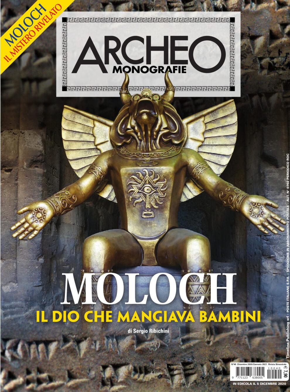 Copertina di Archeo Monografie, n. 40 Dicembre 2020/Gennaio 2021