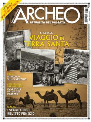 Copertina di Archeo n. 430, Dicembre 2020